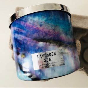 NEW Lavender Sea Candle